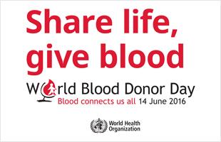 giornata mondiale donatore 2016