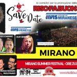 Riso Fa Buon Sangue al Mirano Summer Festival 2017