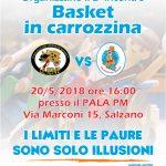 2° incontro di Basket in Carrozzina